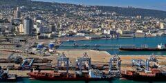 قامت مجموعة من الموانئ على سواحل البحر المتوسط وهي