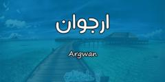 معنى اسم أرجوان في علم النفس