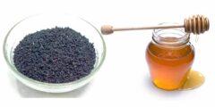 علاج السرطان بالعسل والحبة السوداء والثوم