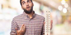 أسباب الإحساس بحرارة في الجسم مع أن درجة الحرارة طبيعية