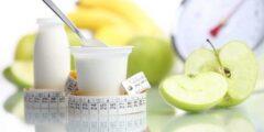 نظام رجيم اللبن والتفاح الأخضر في وجبة الإفطار والغذاء والعشاء