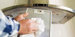كيفية تنظيف فلتر شفاط الدهون المطبخ