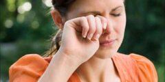 تأثير الجيوب الأنفية على العين