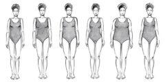 أشكال الجسم والملابس المناسبة له