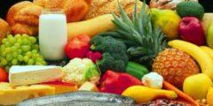 ما هو الأكل الصحي وغير الصحي