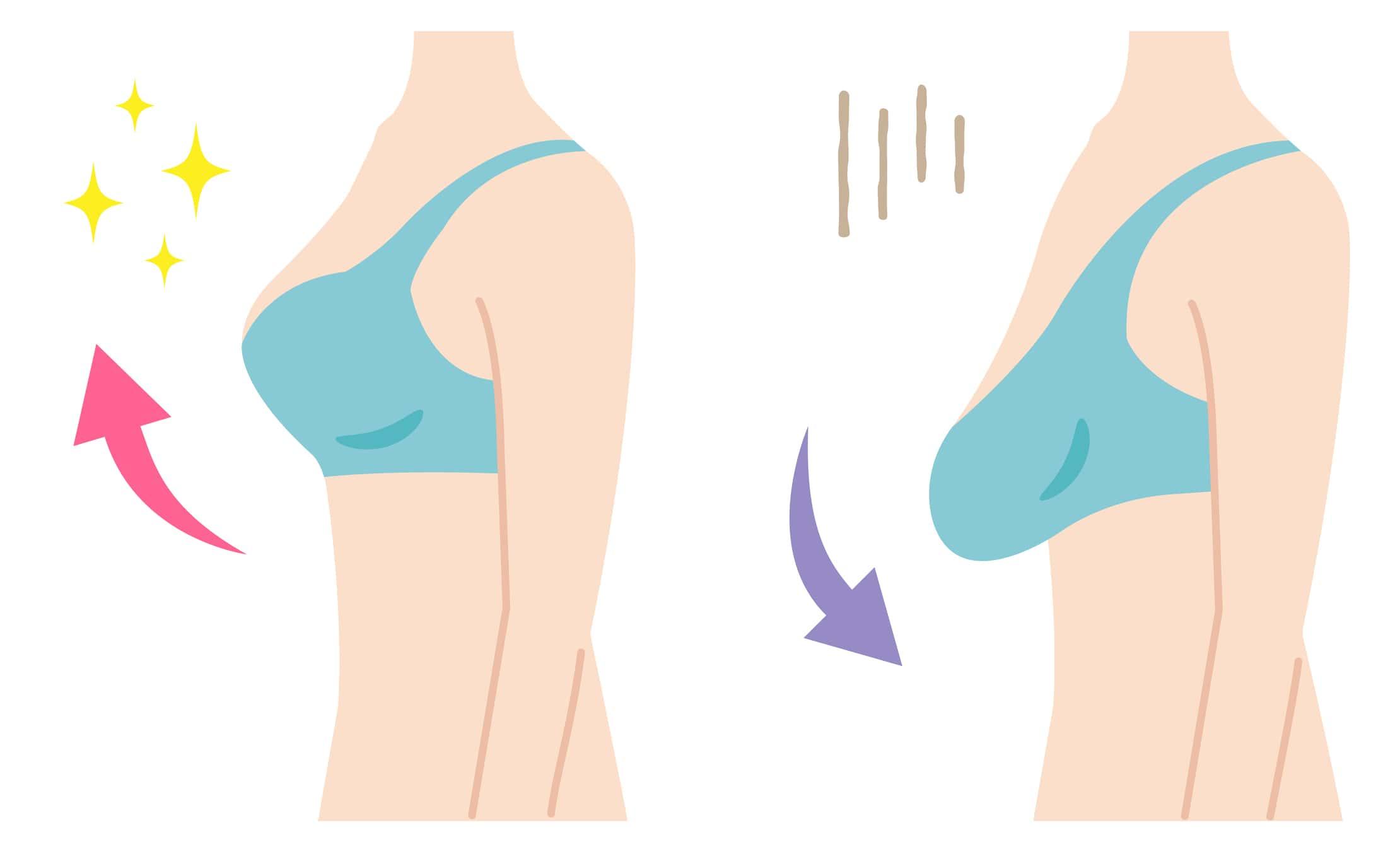 أسرع طريقة لتكبير الثدي
